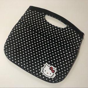 Handbags - Hello Kitty clutch purse, so adorable, polka dot